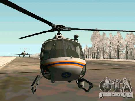 Bo 105 МЧС России для GTA San Andreas вид сзади слева