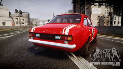 Ford Escort RS1600 PJ63 для GTA 4
