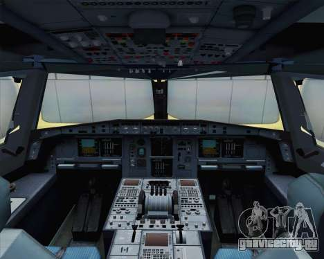 Airbus A380-800 F-WWDD Not Painted для GTA San Andreas вид сзади