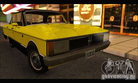 Ford Falcon Sprint для GTA San Andreas вид справа