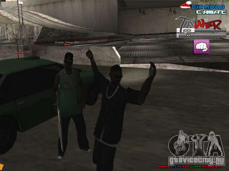 C-HUD TAWER by Vitya для GTA San Andreas второй скриншот