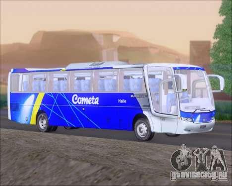 Busscar Vissta Buss LO Cometa для GTA San Andreas вид сзади слева