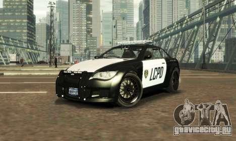 GTA V Ubermacht Sentinel Police [ELS] для GTA 4
