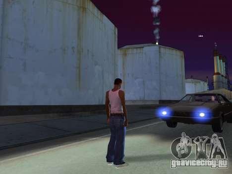 ENB для слабых PC by RonaldZX для GTA San Andreas четвёртый скриншот