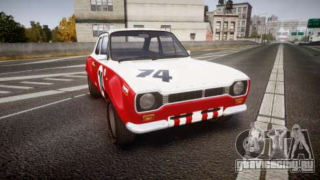 Ford Escort RS1600 PJ74 для GTA 4