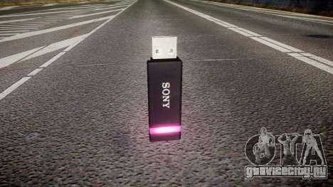 USB-флеш-накопитель Sony purple для GTA 4 второй скриншот