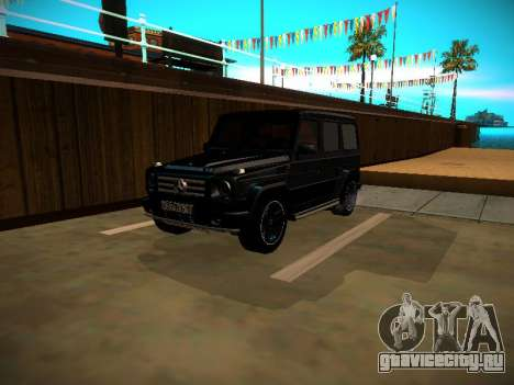 Mercedes-Benz G500 Bluetec 2014 для GTA San Andreas вид слева