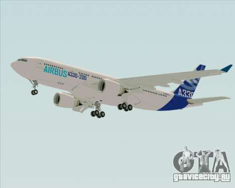 Airbus A330-200 Airbus S A S Livery для GTA San Andreas вид справа