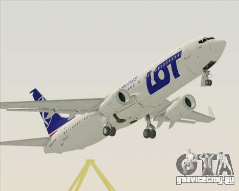 Boeing 737-800 LOT Polish Airlines для GTA San Andreas
