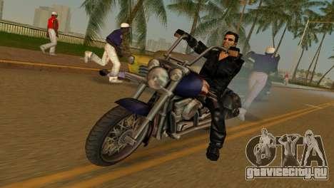 Tommi Black Skin для GTA Vice City второй скриншот