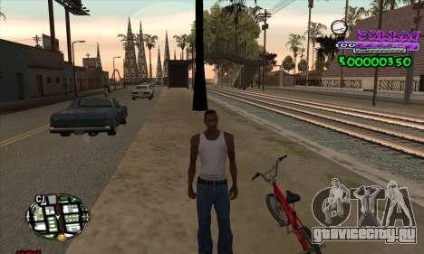 C-HUD Ballas для GTA San Andreas