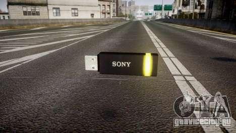 USB-флеш-накопитель Sony yellow для GTA 4