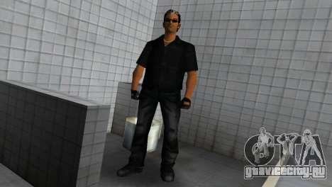 Tommy In Black для GTA Vice City третий скриншот