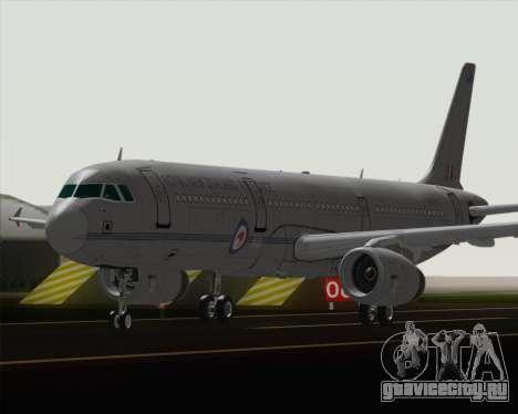 Airbus A321-200 Royal New Zealand Air Force для GTA San Andreas