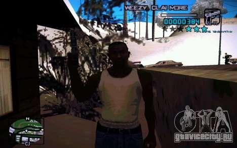 HUD by Weezy для GTA San Andreas третий скриншот