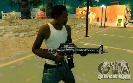 M4A1 (Looney) для GTA San Andreas второй скриншот