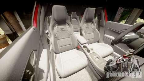 Mersedes-Benz A45 AMG для GTA 4 вид сверху