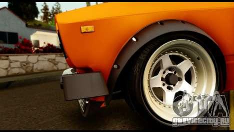 ВАЗ 2105 JDM для GTA San Andreas вид изнутри