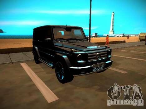 Mercedes-Benz G500 Bluetec 2014 для GTA San Andreas