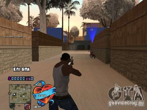 C-HUD Сердце для GTA San Andreas