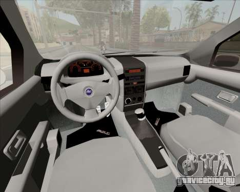 Fiat Siena 2008 для GTA San Andreas