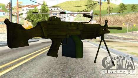 M16 from Global Ops: Commando Libya для GTA San Andreas второй скриншот