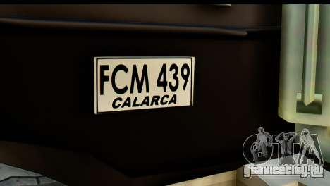 Chevrolet C.O.E. Semimula для GTA San Andreas вид справа