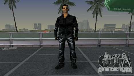 Tommi Black Skin для GTA Vice City третий скриншот