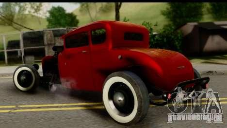 Smith 34 Hot Rod для GTA San Andreas вид слева