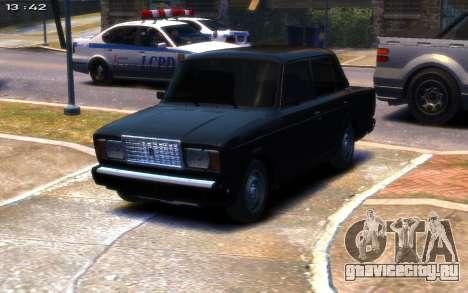 ВАЗ 2107 R13 для GTA 4