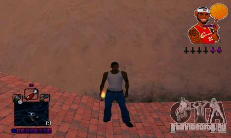 C-HUD Basketball для GTA San Andreas