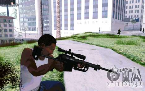 Cheytac M200 Black для GTA San Andreas третий скриншот