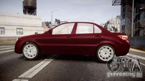 Iran Khodro Dena для GTA 4 вид слева