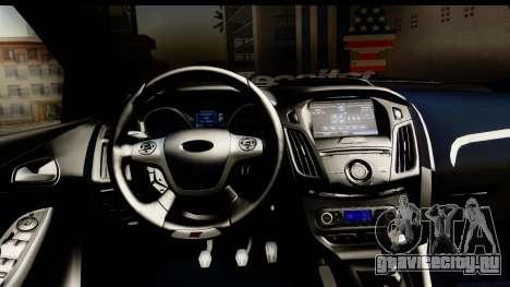 Ford Focus ST для GTA San Andreas вид сзади слева