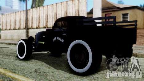 Hot-Rod По-русски для GTA San Andreas вид слева