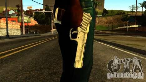 Desert Eagle from GTA 5 для GTA San Andreas