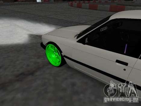 BMW M3 E30 Drift для GTA San Andreas вид справа