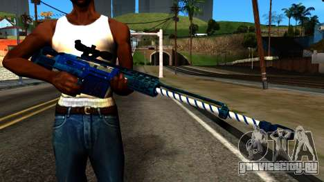 New Year Sniper Rifle для GTA San Andreas