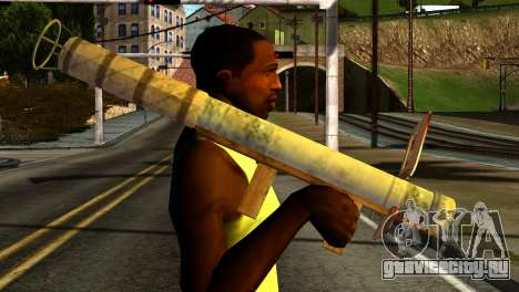 Firework Launcher from GTA 5 для GTA San Andreas