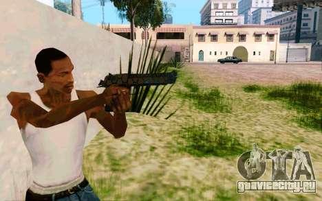 Desert Eagle (Dodgers) для GTA San Andreas третий скриншот