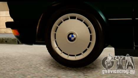 BMW M5 E28 Edit для GTA San Andreas вид сзади слева