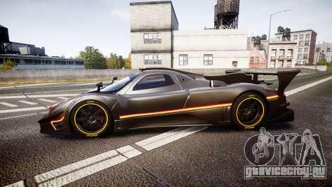 Pagani Zonda Revolution 2013 для GTA 4 вид слева