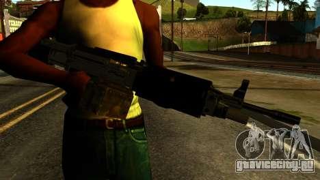 Combat MG from GTA 5 для GTA San Andreas третий скриншот