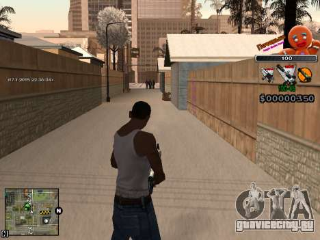 C-HUD Печенька для GTA San Andreas шестой скриншот