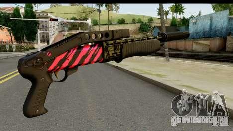 Red Tiger Combat Shotgun для GTA San Andreas второй скриншот
