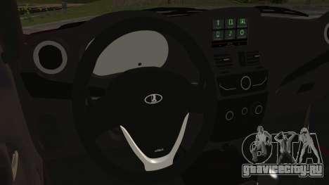 Lada Kalina R2 для GTA San Andreas вид справа