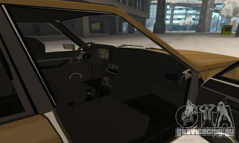 Renault 18 для GTA San Andreas салон