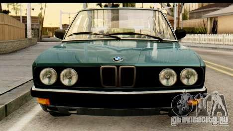 BMW M5 E28 Edit для GTA San Andreas вид сзади