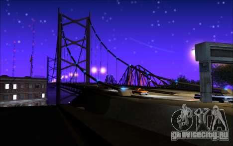 Whim NY ENB для GTA San Andreas четвёртый скриншот