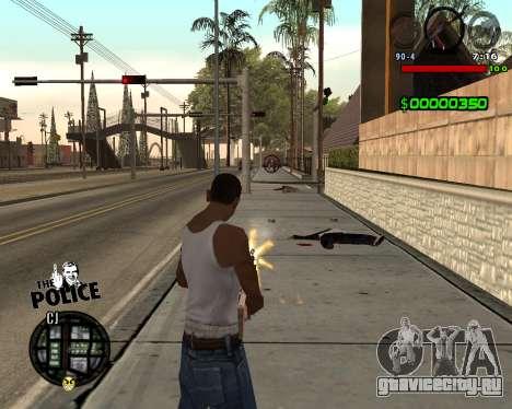 C-HUD by Jim для GTA San Andreas